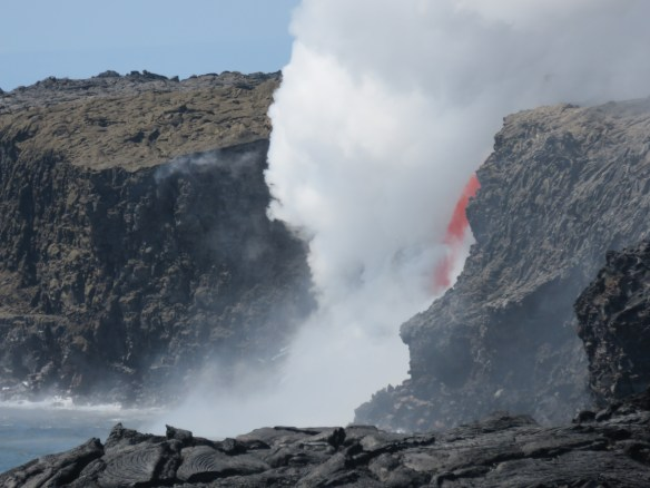"""Firehose"" eruption of Kilauea, February 2017"