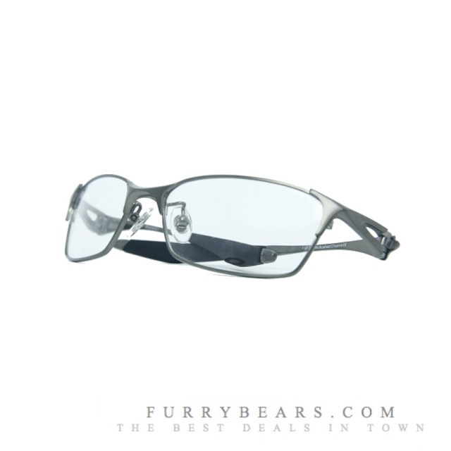 OAKLEY BRACKET 4.1 BRUSHED CHROME2