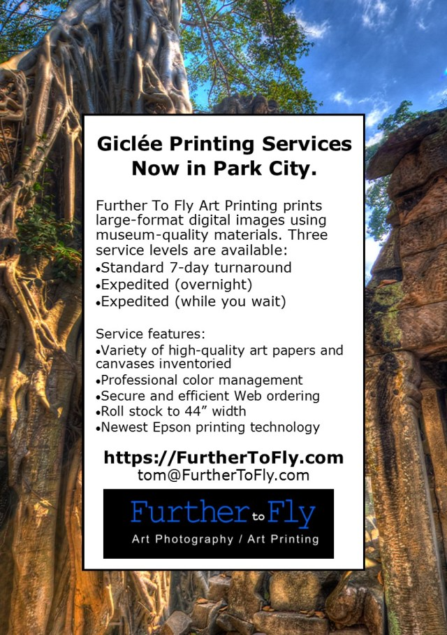 Giclee Printing Services Now Available