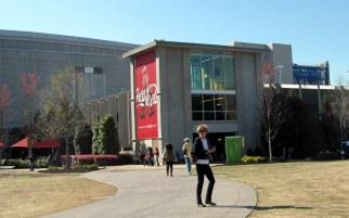 Atlanta es el Mundo Coca Cola por todos lados