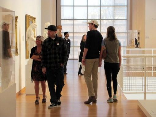 Miradas propias del museo.