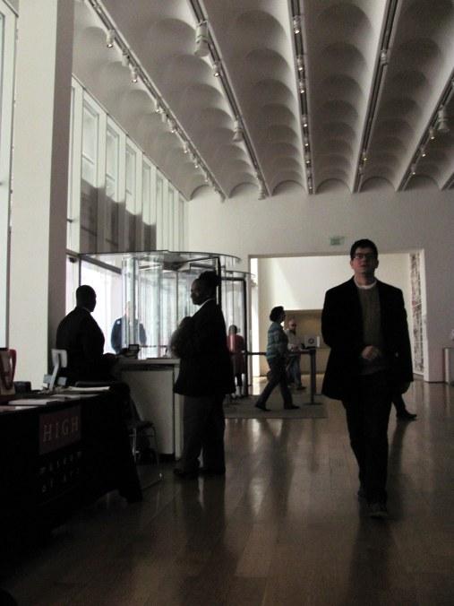 Saliendo del museo