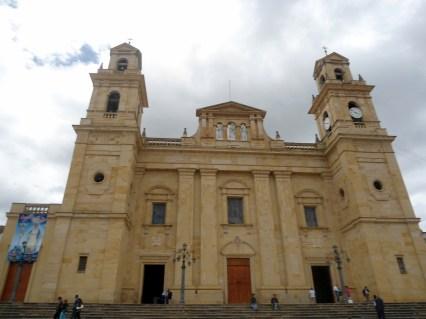 Plaza principal de Chiquinquirá
