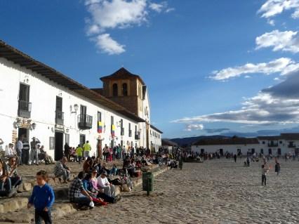 Plaza principal de Villa de Leyva