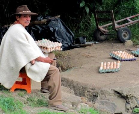 Vendedor de huevos