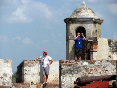 Visitando el fuerte