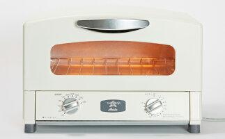 グラファイトトースター【2枚焼】(ホワイト) 【寄付金額:30,000円】 イメージ