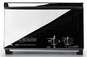 ミラーガラスオーブントースター イメージ