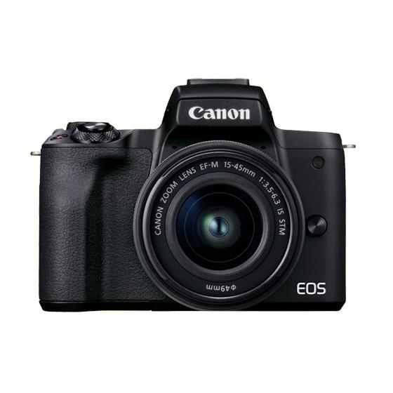 ミラーレスカメラ EOSKissM2・レンズキット(ブラック) イメージ