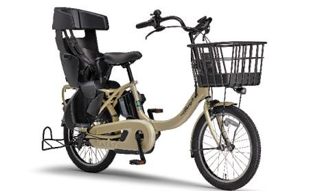 電動アシスト自転車 PAS Babby un SPリヤチャイルドシート 標準装備モデル マットカフェベージュ イメージ