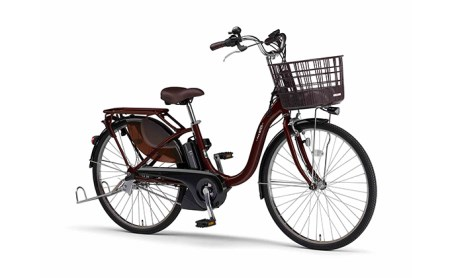 電動アシスト自転車 PAS With 26インチ カカオ イメージ