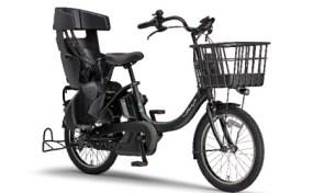 電動アシスト自転車 PAS Babby un SPリヤチャイルドシート 標準装備モデル マットブラック2