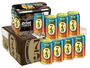 オリオン初のクラフトビール 75BEER《ナゴビール》350ml×24本
