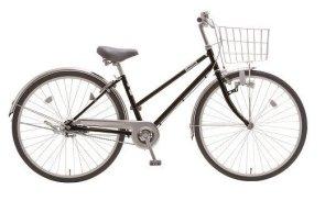 内装3段オートライト付き自転車 フィフスアベニュー27型ピアノブラック