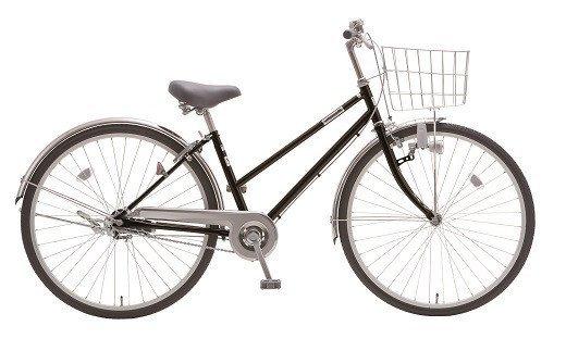 内装3段オートライト付き自転車 フィフスアベニュー27型ピアノブラック イメージ