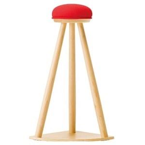 赤い帽子のキッチンスツール イメージ