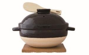 伊賀焼 炊飯土鍋 「かまどさん」三合炊き