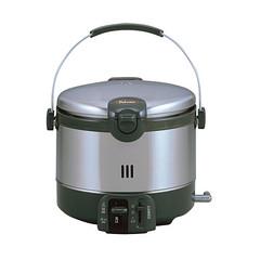 パロマ ガス炊飯器 ステンレスタイプ イメージ