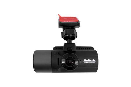 車の前後・車内の3カメラ同時録画 夜間に強い高画質ドライブレコーダー OWL-DR803FG-3C イメージ