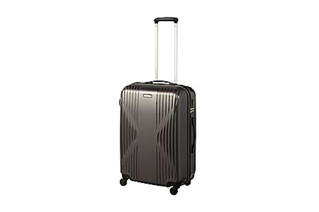 ワールドトラベラー クリアウォーター 日本製スーツケース 60L(ガンメタリック) イメージ