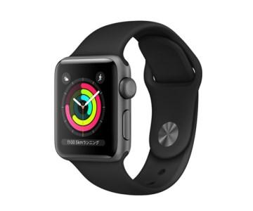 Apple Watch Series 3(GPSモデル)38mm イメージ