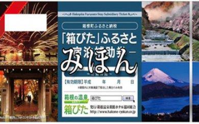 【箱根町】箱ぴたふるさと宿泊補助券 イメージ