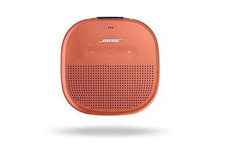 泉州タオル×Bose 泉州の華織「麗」SoundLink Micro Bluetooth speaker Bright Orangeセット【寄付金額:95,000円】 イメージ