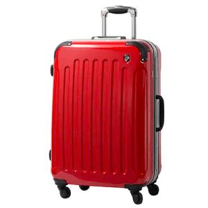 スーツケースPC7000 Mサイズ ロイヤルレッド