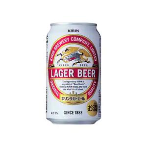 5位 福岡県朝倉市 キリンラガービール350ml×1ケース(24本)