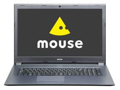 マウスコンピューター17.3型ノート「m-Book W880SN-S2-A2-IIYAMA」 イメージ