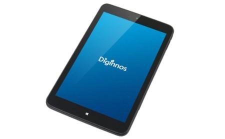 8インチタブレット サードウェーブ「Diginnos DG-D08IW2SL」 イメージ