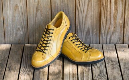紳士革靴 YA3300倭イズム鹿革シューズ ライトブラウン 26.0cm  イメージ
