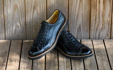 紳士革靴 YA3300倭イズム鹿革シューズ ブラック 26.0cm  イメージ
