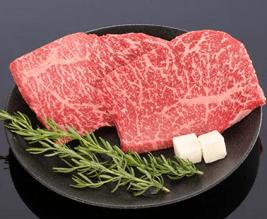 高級和牛「熊野牛」 特選モモステーキ 400g (約100g×4枚)4等級以上