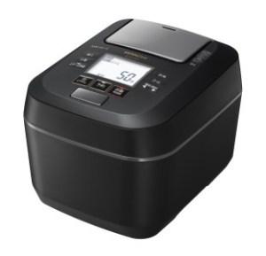 【圧力スチームIH】炊飯器(5.5合用)RZ-W100CM(K)