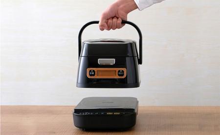 米屋の旨み 銘柄量り炊き 分離式IHジャー炊飯器 3合 RC-IA31-B イメージ
