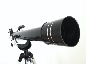 入門者でも扱いやすい対物レンズ60mm天体望遠鏡AZM-60