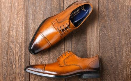 倭イズム 牛革マッケイビジネスシューズ紳士靴YAP500(ライトブラウン) 26.5cm  イメージ