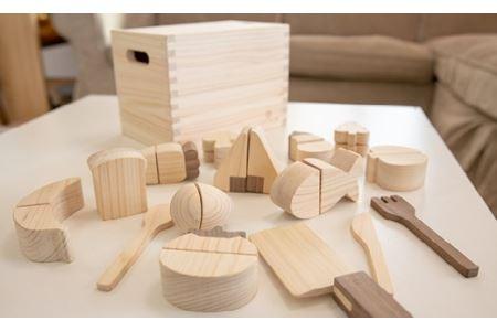 檜のおもちゃ IKONIHアイコニー 食材セット イメージ