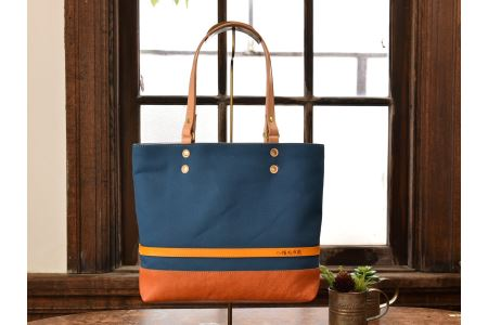 八幡帆布鞄トートバッグ・名入れ可能 Mサイズ イメージ