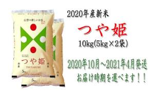 【2020年(令和2年)産】山形県河北町産米つや姫10kg(5kg×2袋)