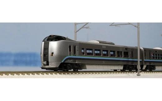 Nゲージ白銀世界を駆ける特急電車!789系「カムイ・すずらん」展示セット イメージ