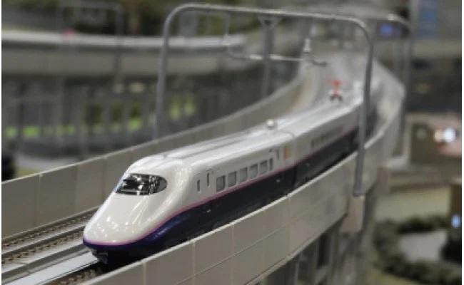 Nゲージ 東日本の主力万能型新幹線! E2系「はやて」運転セット室内灯付! イメージ