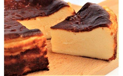 絶品!厳選素材の濃厚バスクチーズケーキ イメージ