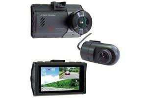 ドライブレコーダー 2カメラ 200万画素 FC-DR220WW