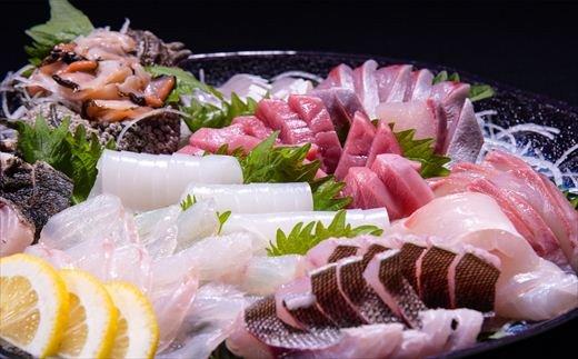 新鮮 旬魚 地魚 刺身盛り合わせ5~6人前(冷蔵) イメージ