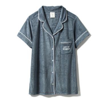 ジェラートピケ パイルパジャマシャツ
