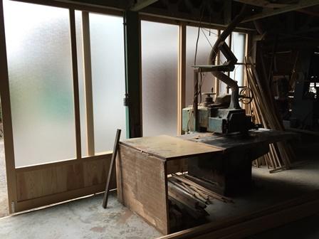 工場改装建具