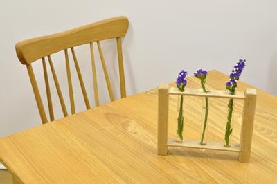 花瓶 木 ミニ