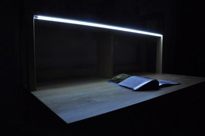 オリジナルデスク 勉強用 ライト付き